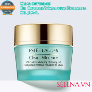Gel trị da dầu, mụn Clear Difference Oil Control Mattifying Hydrating 50ml