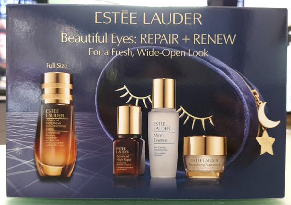 Bộ set dưỡng mắt Estee Lauder Beautiful Eyes: Repair + Renew For a Fresh