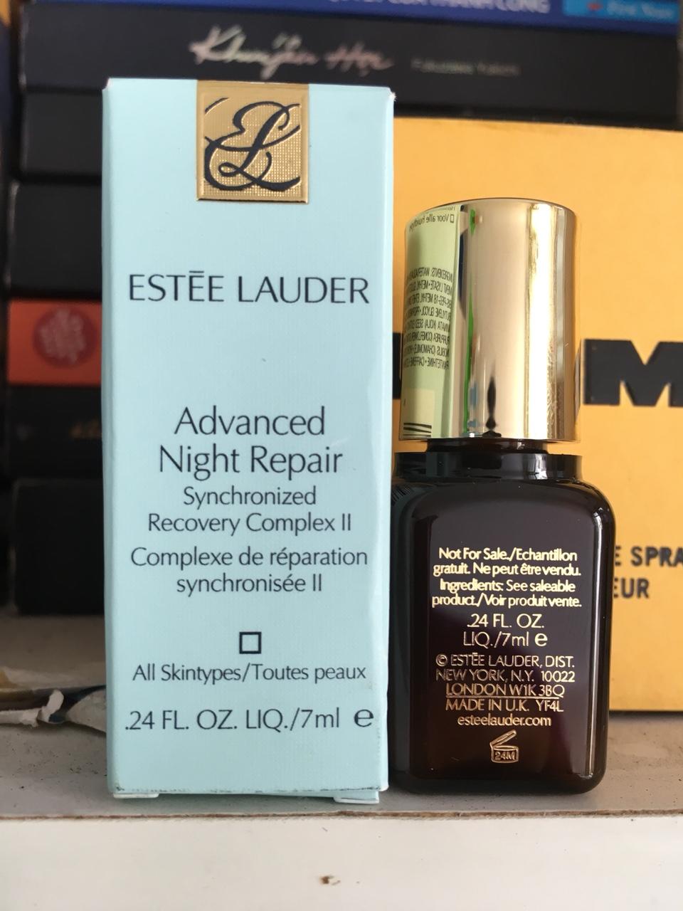 Tinh chất phục hồi da ban đêm Estee Lauder Advanced Night Repair 7ML
