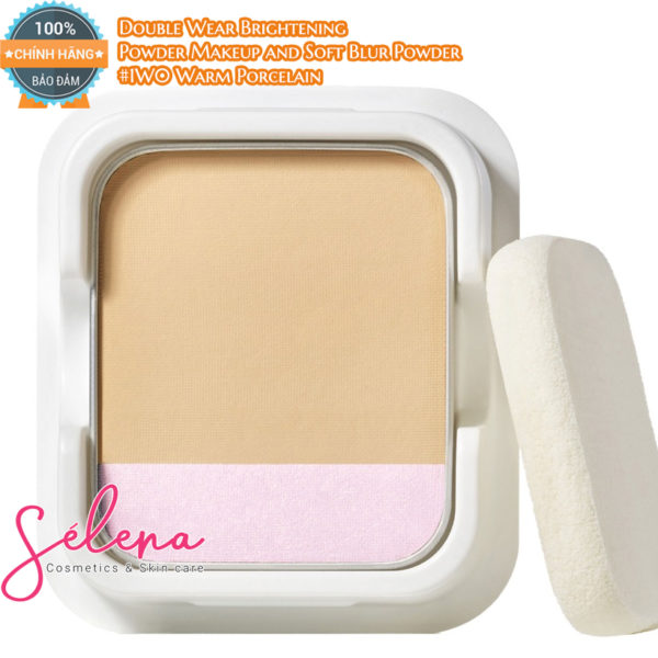 Phấn Nền Estée Lauder Double Wear Brightening Powder Makeup and Soft Blur Powder SPF 25/PA+++ #1W0 Warm Porcelain