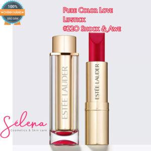 Son Thỏi Estée Lauder Pure Color Love Lipstick #220 Shock & Awe