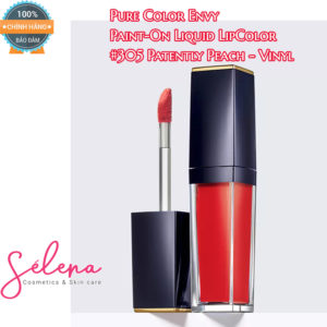 Son Môi Estee Lauder Pure Color Envy Paint-On Liquid LipColor #305 Patently Peach - Vinyl