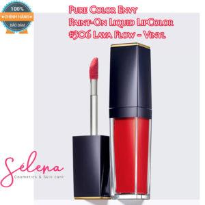 Son Môi Estee Lauder Pure Color Envy Paint-On Liquid LipColor #306 Lava Flow - Vinyl
