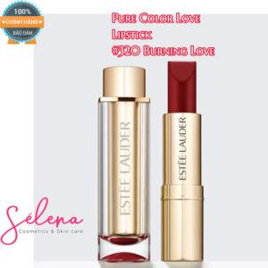 Son Thỏi Estée Lauder Pure Color Love Lipstick #320 Burning Love - Ultra Matte