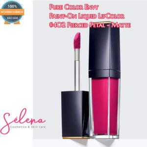 Son Môi Estee Lauder Pure Color Envy Paint-On Liquid LipColor #402Pierced Petal - Matte