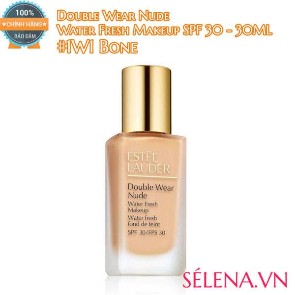 Kem nền Double Wear Nude Water Fresh Makeup SPF 30 #1W1 Bone
