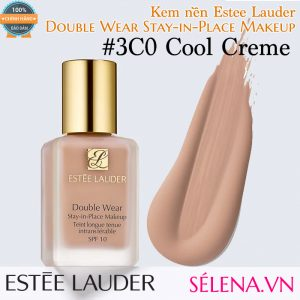 Kem nền Estee Lauder Double Wear Stay-in-Place Makeup #3C0 Cool Creme