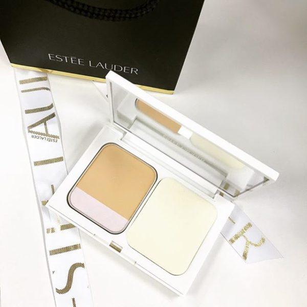 Phấn Nền Estée Lauder Double Wear Brightening Powder Makeup and Soft Blur Powder SPF 25/PA+++