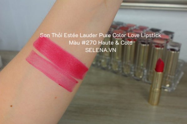 Son Thỏi Estée Lauder Pure Color Love Lipstick #270 Haute & Cold