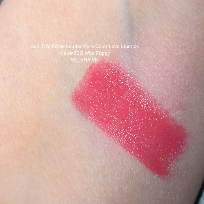 Son Thỏi Estée Lauder Pure Color Love Lipstick #330 Wild Poppy