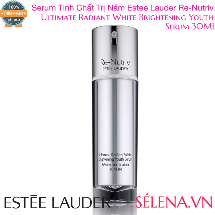 Serum Trị Nám Re-Nutriv Ultimate Radiant White Brightening Youth 30ML