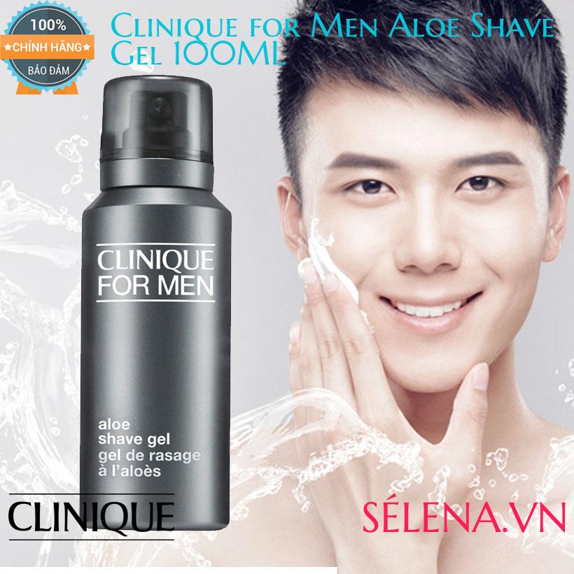 Kem Cạo Râu Clinique For Men Aloe Shave Gel 100ML