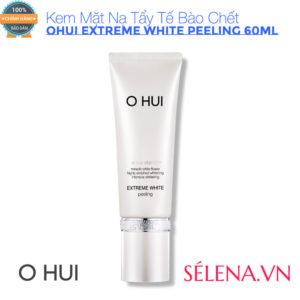Kem Mặt Nạ Tẩy Tế Bào Chết OHUI Extreme White Peeling 60ML