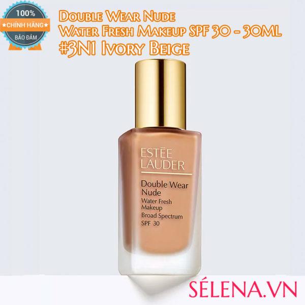 Kem nền Double Wear Nude Water Fresh Makeup #3N1 Ivory Beige