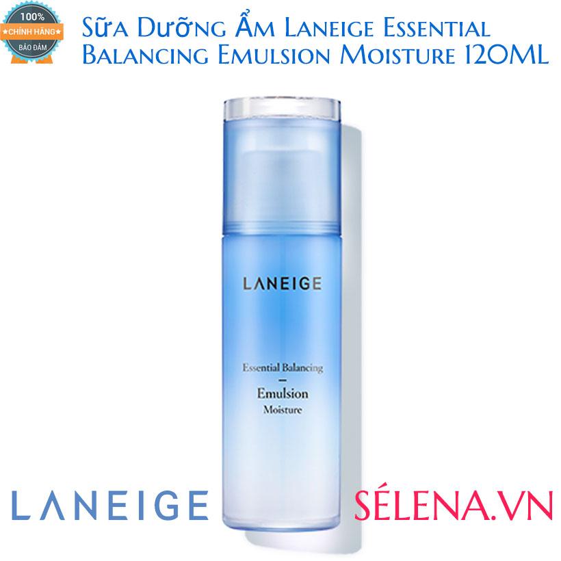 Sữa Dưỡng Ẩm Laneige Essential Balancing Emulsion Moisture 120ML