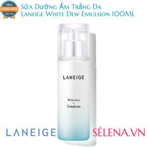 Sữa Dưỡng Ẩm Trắng Da Laneige White Dew Emulsion 100ML