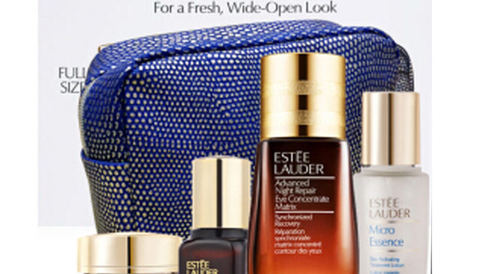 Bộ Set Estee Lauder Beautiful Eyes: Repair + Renew For a Fresh