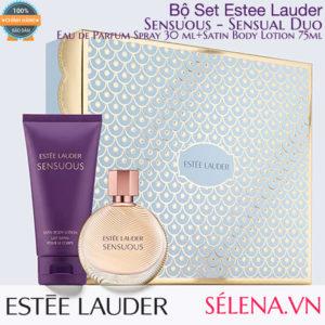 Bộ Set Estee Lauder Sensuous Sensual Duo: Nước hoa và Dưỡng thể