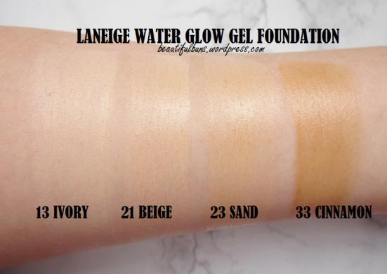 Kem nền dưỡng ẩm Laneige Water Glow Gel Foundation
