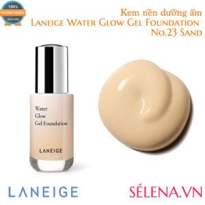 Kem nền dưỡng ẩm Laneige Water Glow Gel Foundation #23 Sand
