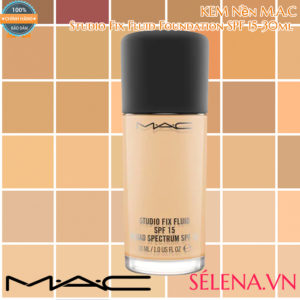 Kem Nền M.A.C Studio Fix Fluid Foundation SPF 15-30ml