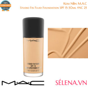 Kem Nền M.A.C Studio Fix Fluid Foundation SPF 15-30ml #NC 25