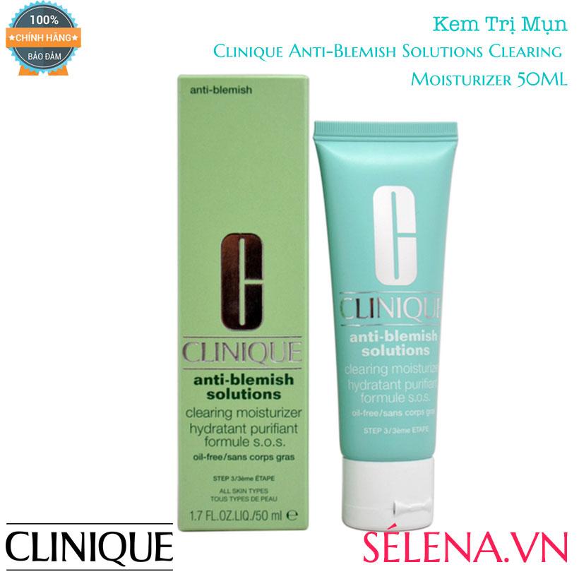 Kem Trị Mụn Clinique Anti-Blemish Solutions Clearing Moisturizer 50ML