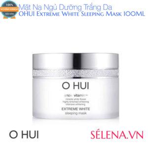 Mặt Nạ Ngủ Dưỡng Trắng Da OHUI Extreme White Sleeping Mask 100ML