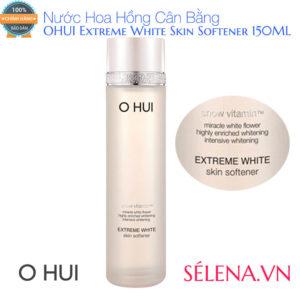 Nước Hoa Hồng Cân Bằng OHUI Extreme White Skin Softener 150ML