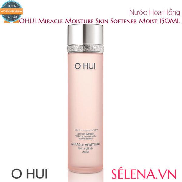 Nước Hoa Hồng OHUI Miracle Moisture Skin Softener Moist 150ML