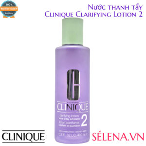 Nước thanh tẩy Clinique Clarifying Lotion 2- 400ml