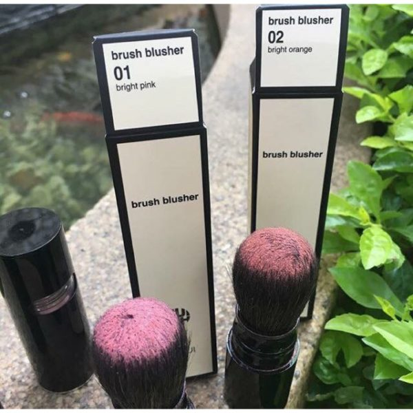 Phấn má hồng dạng cọ OHUI Brush Blusher 6gr màu #01 và #02