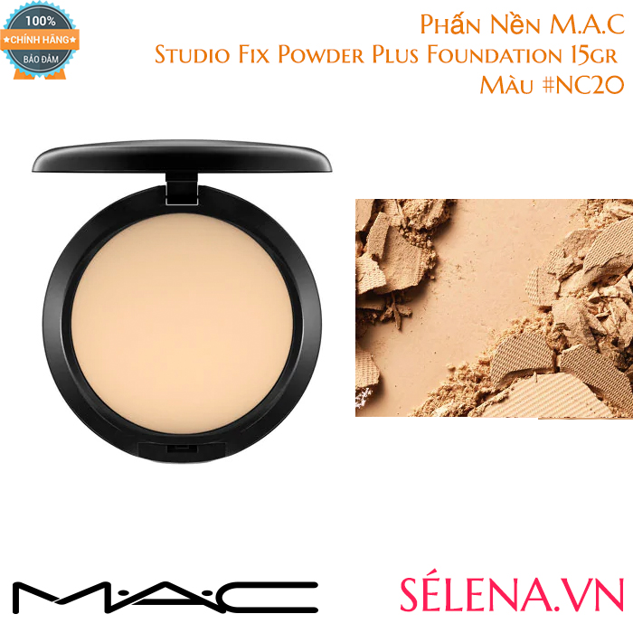 Phấn Nền M.A.C Studio Fix Powder Plus Foundation 15gr #NC20
