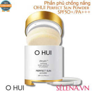Phấn phủ chống nắng OHUI Perfect Sun Powder #02 Beige - 20gr