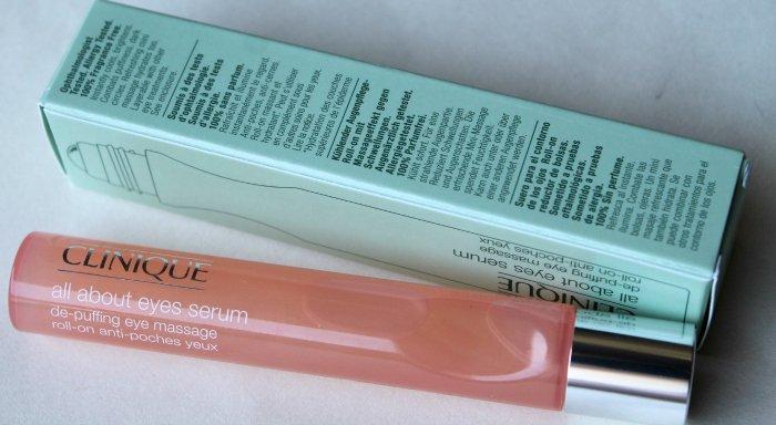 Serum chống quầng thâm và bọng mắt Clinique De-Puffing Eye Massage 15ml