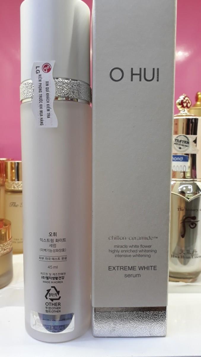 Serum Tinh Chất Dưỡng Trắng Da OHUI Extreme White Serum 45ML