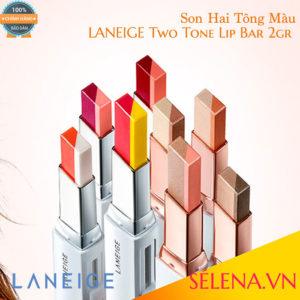 Son Hai Tông Màu LANEIGE Two Tone Lip Bar 2gr