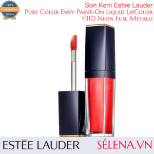 Son kem Pure Color Envy Paint-On Liquid LipColor #310 Neon Fuse Metallic