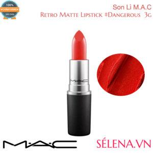 Son Lì M.A.C Retro Matte Lipstick 3g #Dangerous