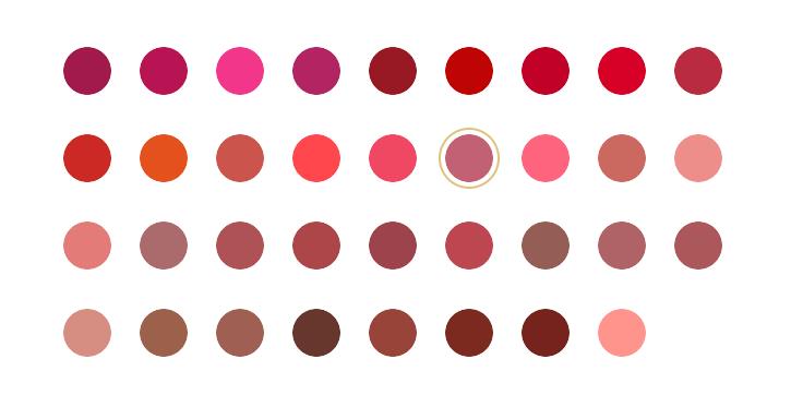 BẢNG MÀU Son Môi Dưỡng Ẩm Estee Lauder Pure Color Envy Sculpting Lipstick