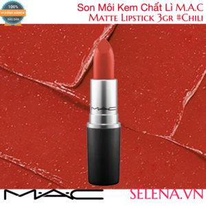 Son Môi Lì M.A.C Matte Lipstick 3g #Chili