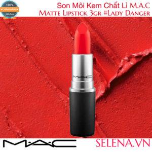 Son Môi Lì M.A.C Matte Lipstick 3g #Lady Danger