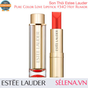 Son Thỏi Estée Lauder Pure Color Love Lipstick #340 Hot Rumor