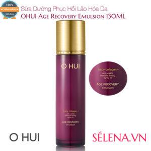 Sữa Dưỡng Phục Hồi Lão Hóa Da OHUI Age Recovery Emulsion 130ML