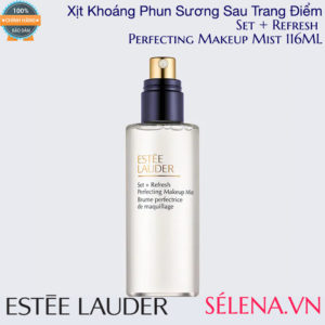Xịt khoáng Estee Lauder Set + Refresh Perfecting Makeup Mist 116ML