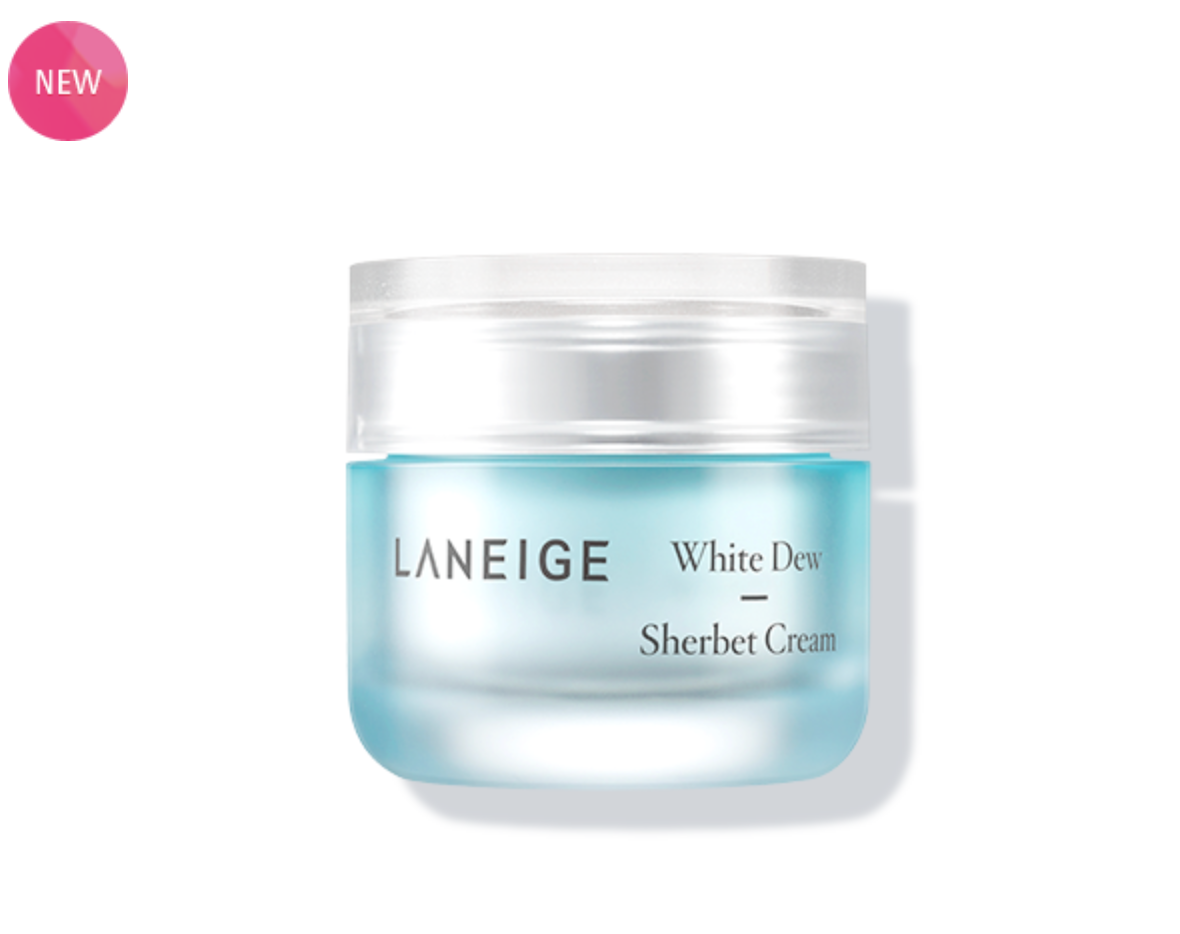 Kem dưỡng ẩm làm sáng da LANEIGE White Dew Sherbet Cream 50ml