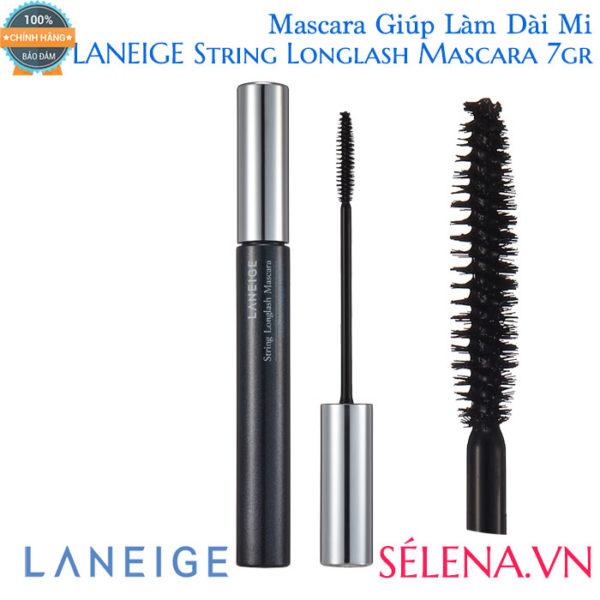 Mascara Giúp Làm Dài Mi LANEIGE String Longlash Mascara 7gr