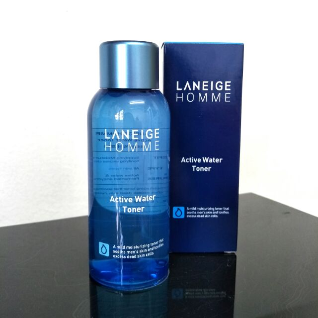 Nước hoa hồng dưỡng ẩm LANEIGE Active Water Skin Toner 180ml