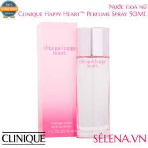 Nước hoa nữ Clinique Happy Heart Perfume Spray 50ml