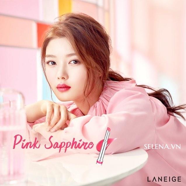Son dưỡng ẩm có màu LANEIGE Stained Glasstick #4 Pink Sapphire
